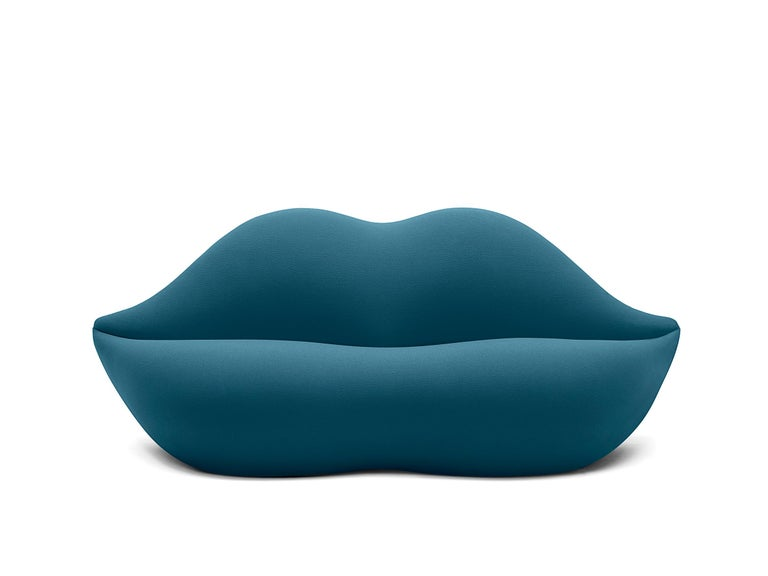 For Sale: Blue (595) Gufram Special Colors Bocca Unlimited by Studio 65