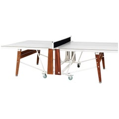 RS# Folding Ping Pong Table in White by RS Barcelona