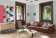 Arflex Rendez Vous Depth 95 Sofa by Mauro Lipparini