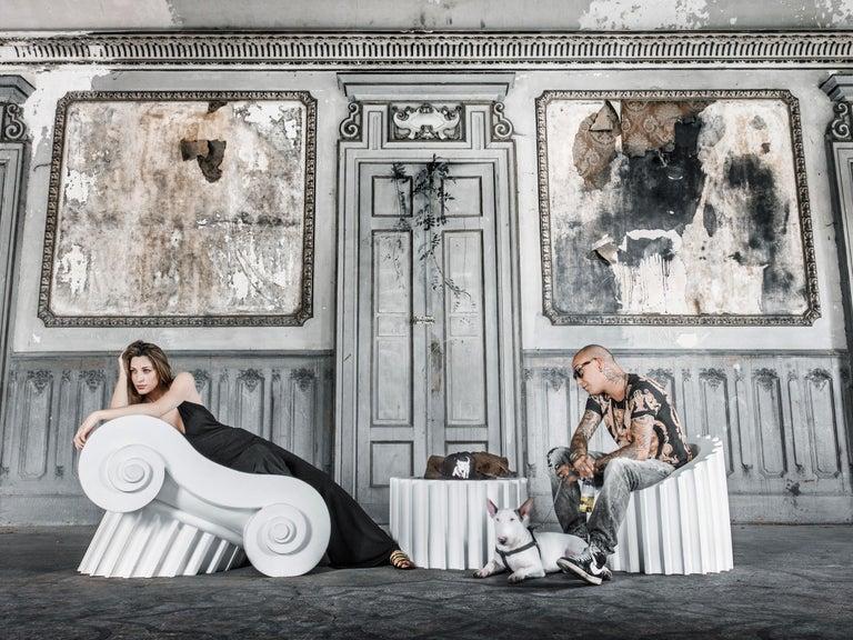 GUFRAM Capitello Chaise Lounge by Studio 65 - 1stdibs New York For Sale 1