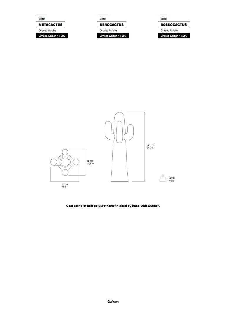 Contemporary GUFRAM Metacactus Sculptural Coatrack by Drocco & Mello - 1stdibs New York For Sale