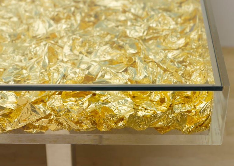 Table Monogold by Yves Klein In New Condition For Sale In Jersey City, NJ