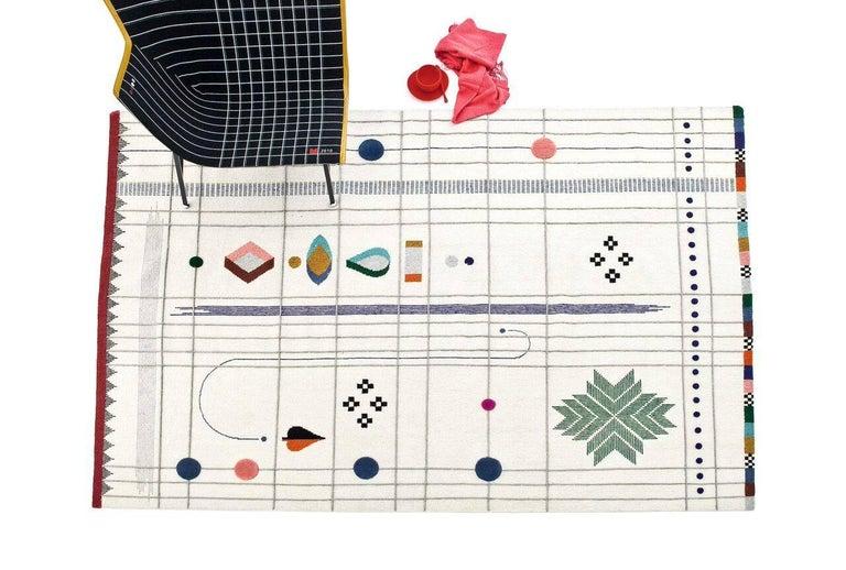 Rabari 1 X-Large Hand-Knotted & Loomed Wool Rug by Nipa Doshi & Jonathan Levien 2