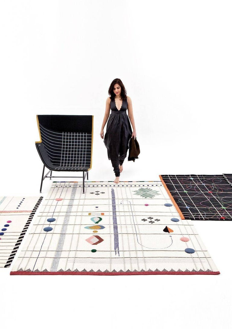 Rabari 1 X-Large Hand-Knotted & Loomed Wool Rug by Nipa Doshi & Jonathan Levien 4