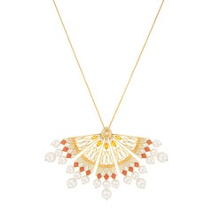 Soleil Necklace Yellow Gold