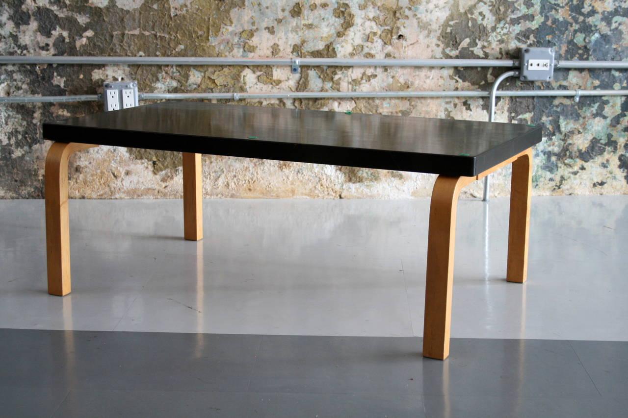 Earlt Bentwood Coffee Table By Alvar Aalto For Artek 1930u0027s 3