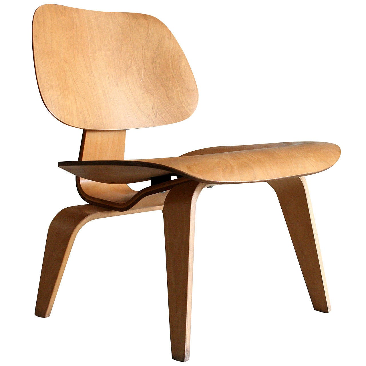 Lounge Chair Wood LCW by Charles Eames for Herman Miller