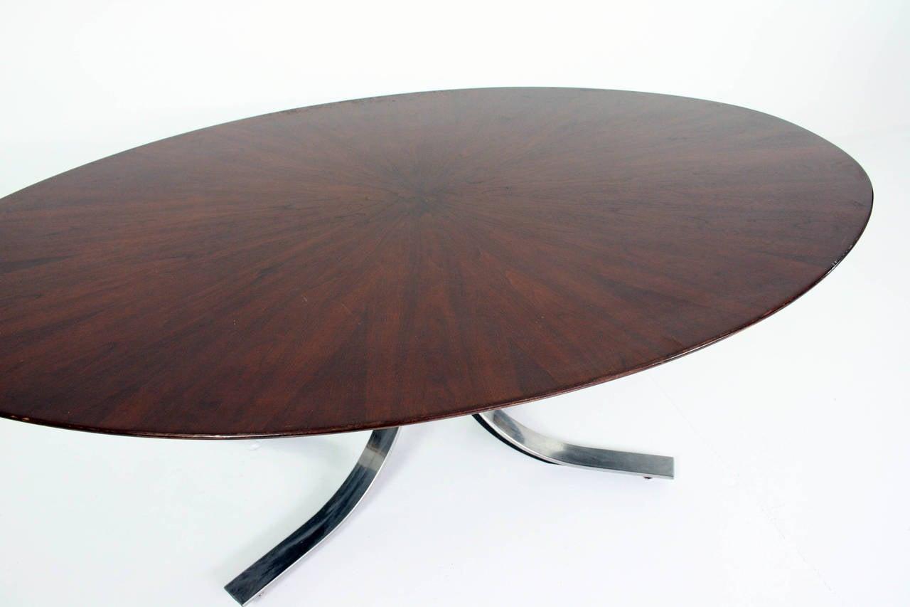 American Osvaldo Borsani Dining Table For Sale