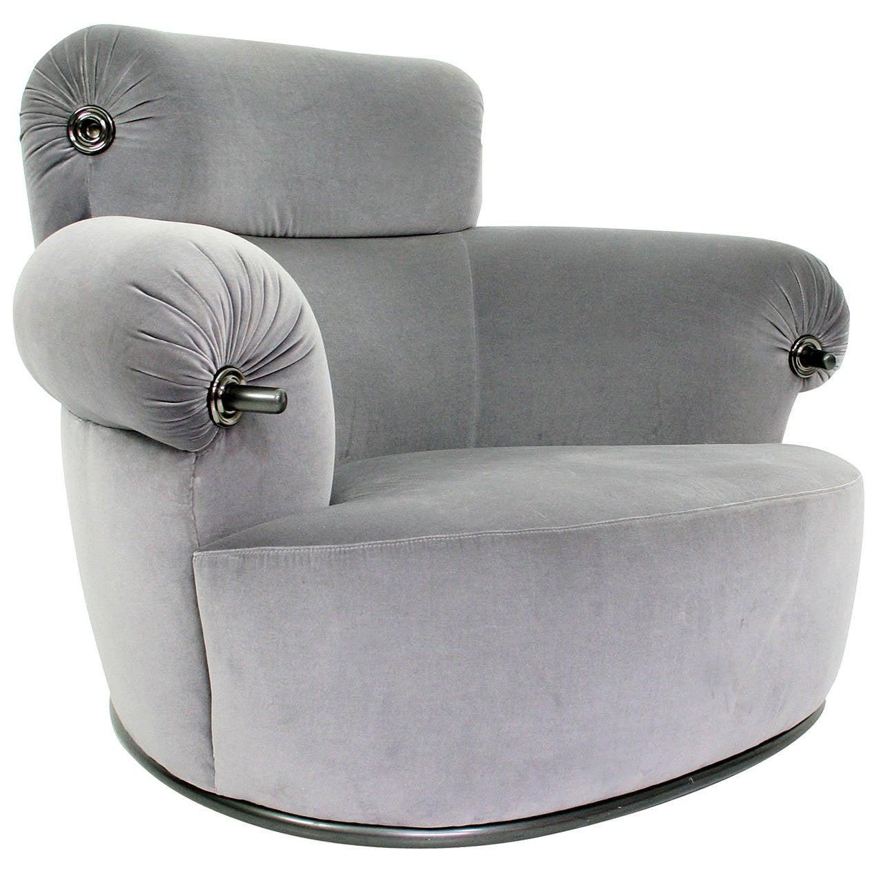 Luigi Caccia Dominioni Azucena Toro Lounge Chair, 1973 For Sale