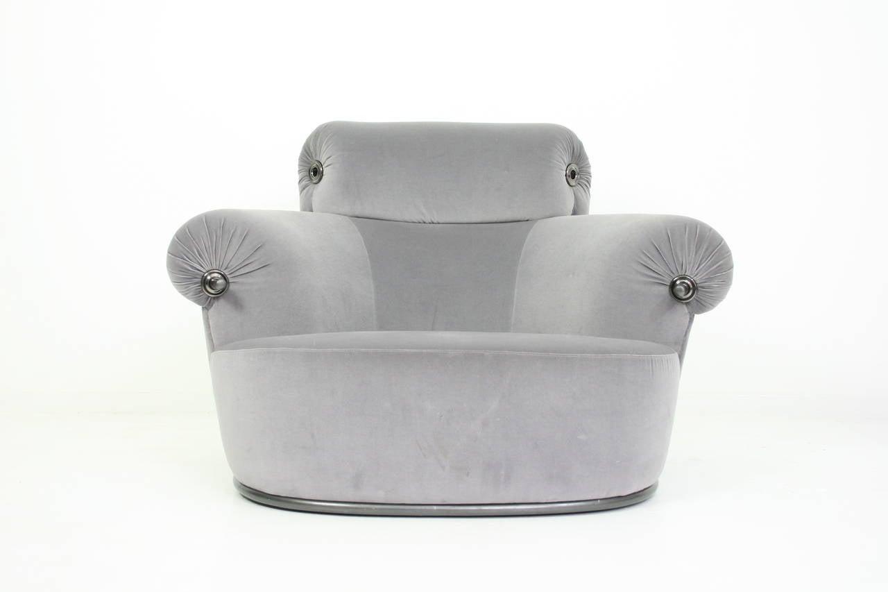 Luigi Caccia Dominioni Azucena Toro Lounge Chair 1973 For Sale at 1stdibs