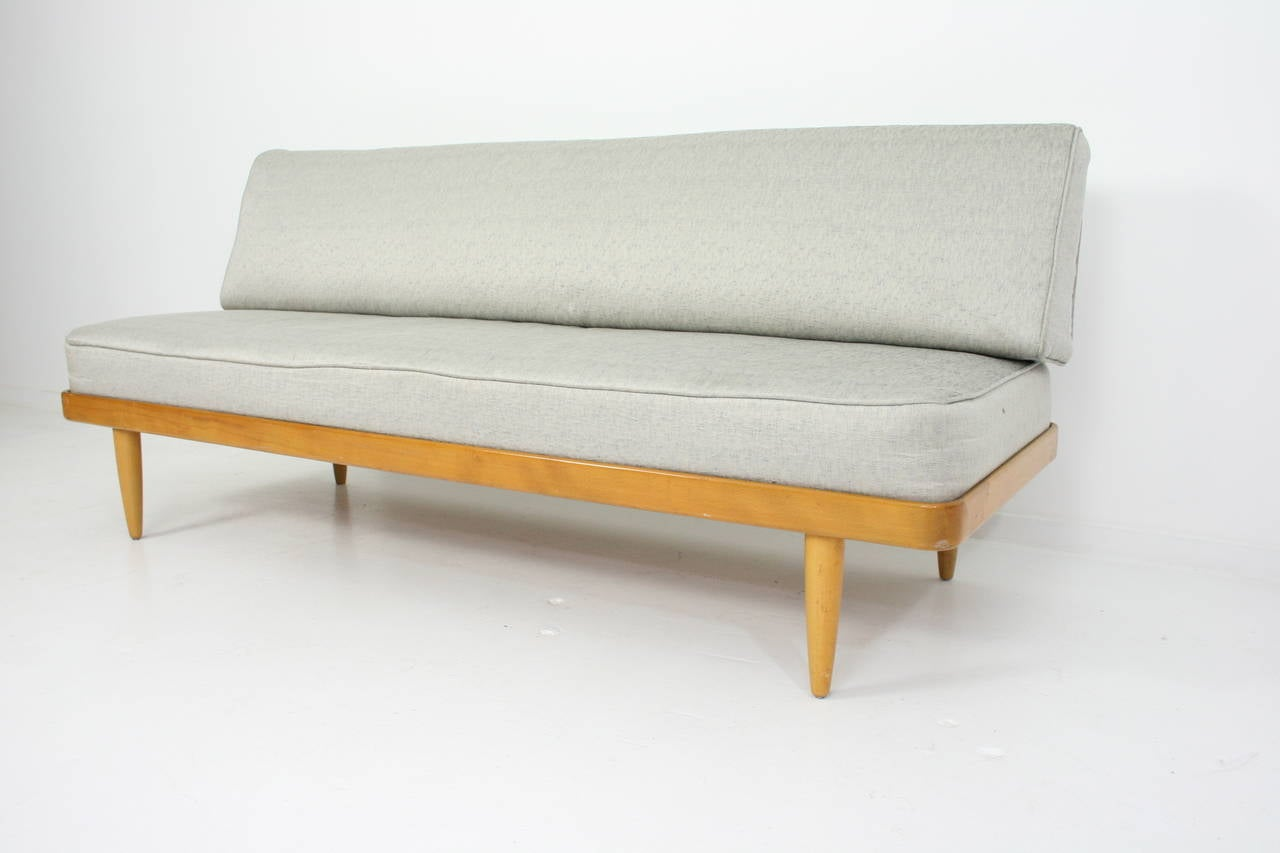Teak Sofa Or Daybed By Peter Hvidt For France And Son Mid
