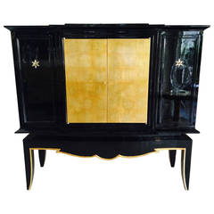 Precious 1940s Dry Bar Attributed to Jean Pascaud