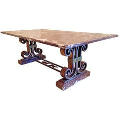 Art Deco Table Attributed to Poillerat
