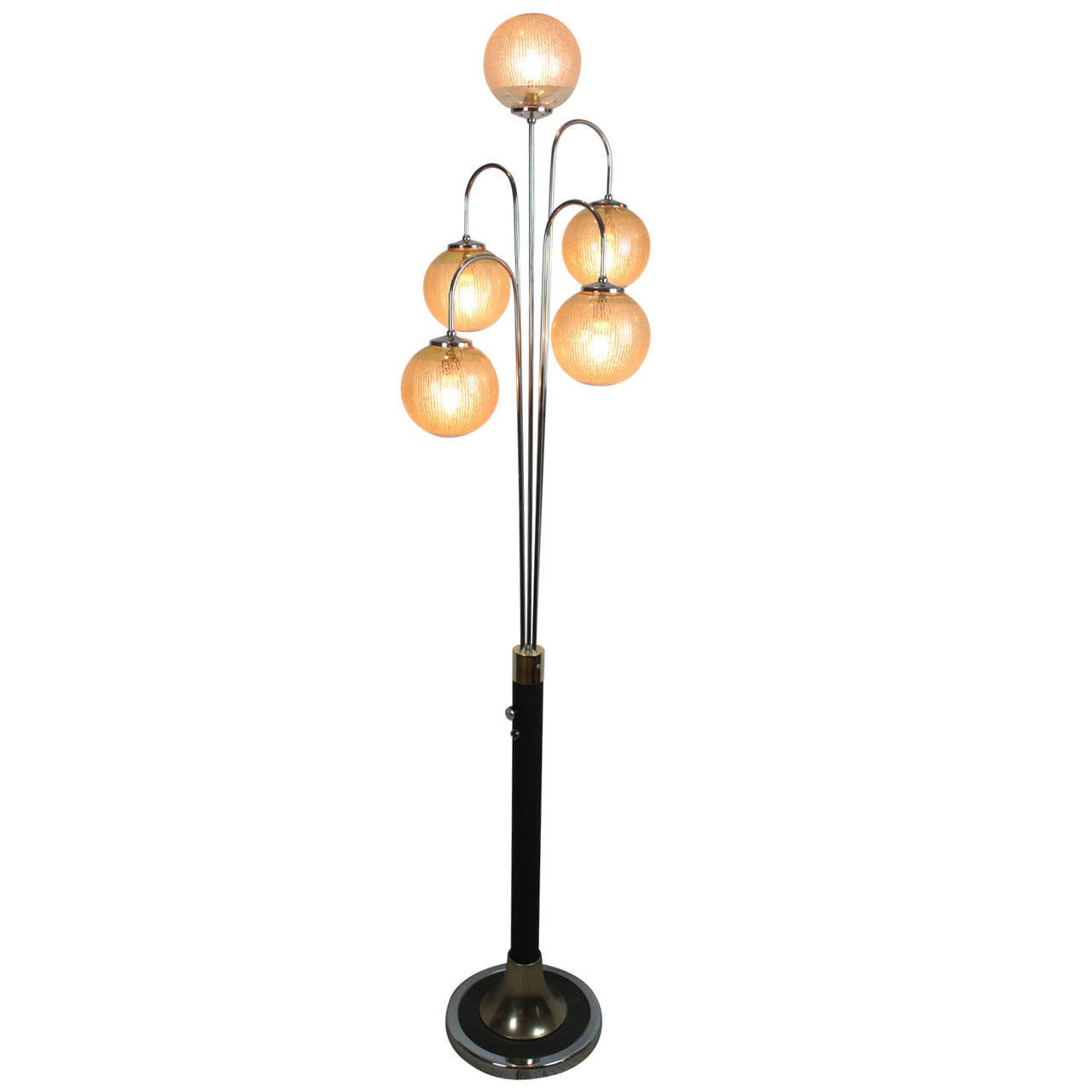 Mid-Century Spider Floor Lamp For Sale at 1stdibs