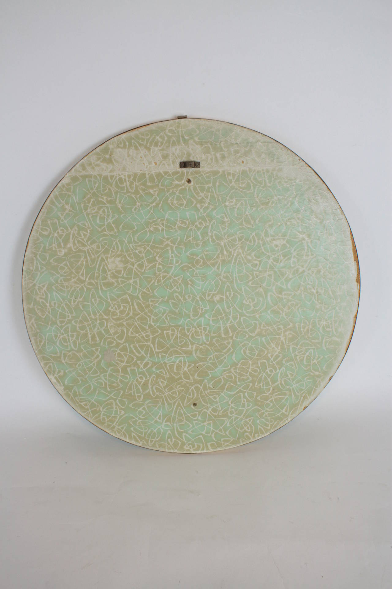 Mid-Century Modern Pastel Colors Ceramic Mosaic Circular Mirror, Spain, 1960s For Sale 7