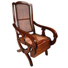 19th Century British Colonial Reclining Chair