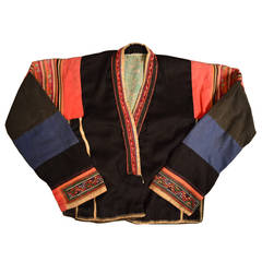 Early 20th Century Miao Embroidered Children's Jacket