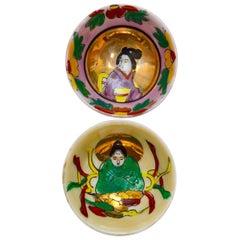 19th Century Japanese Porcelain Sake Cups