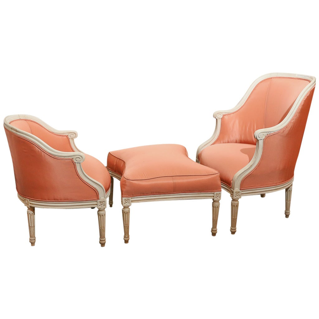 Duchesse brisee for sale at 1stdibs for Chaise 64 cm