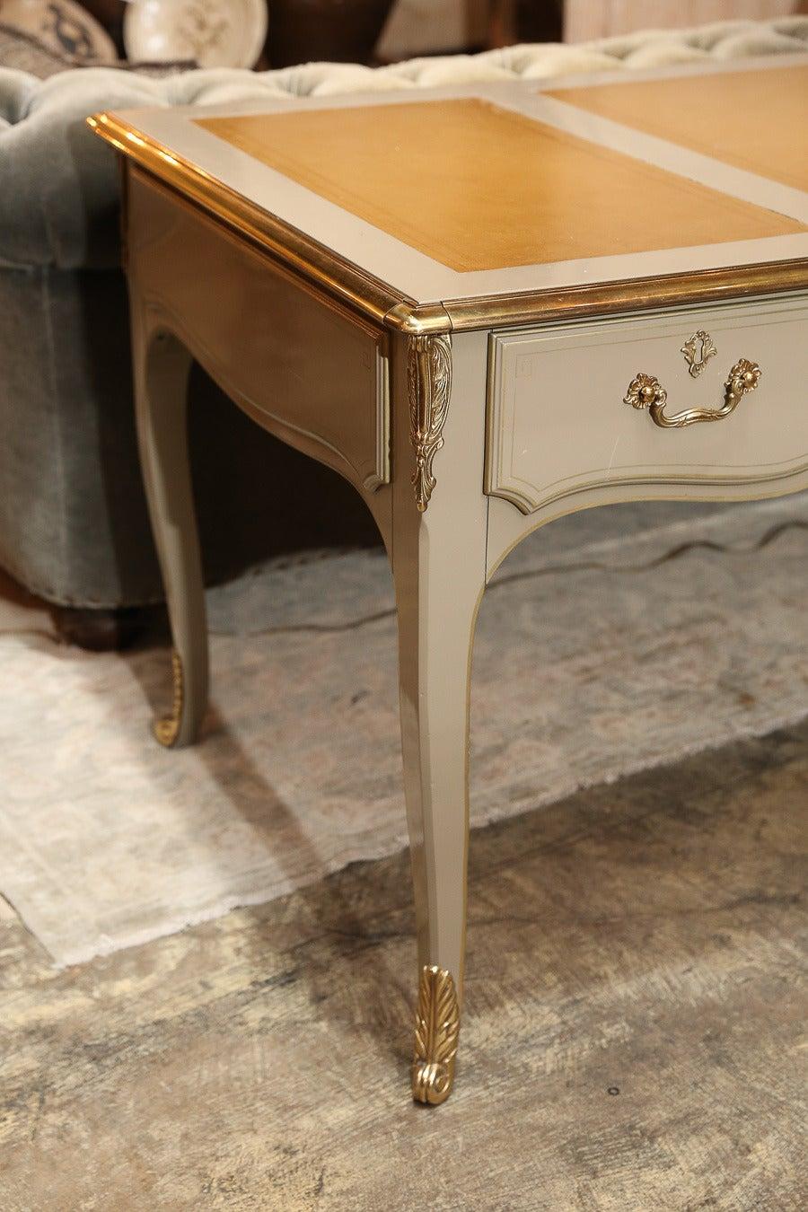 vintage baker furniture bureau plat at 1stdibs