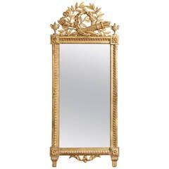 Fine Antique French Pier Mirror