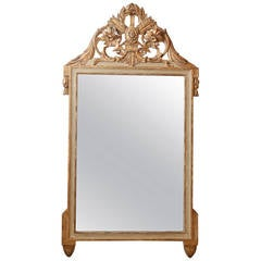 19th Century Carved French Mirror