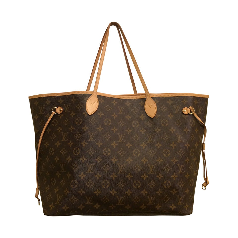 Louis Vuitton Neverfull Monogrammed Tote 1
