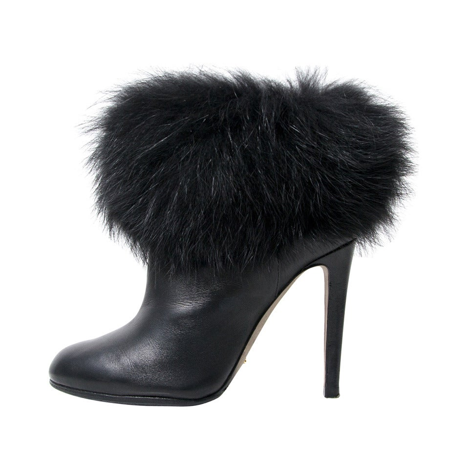 Sergio Rossi Ankle Bootie 1