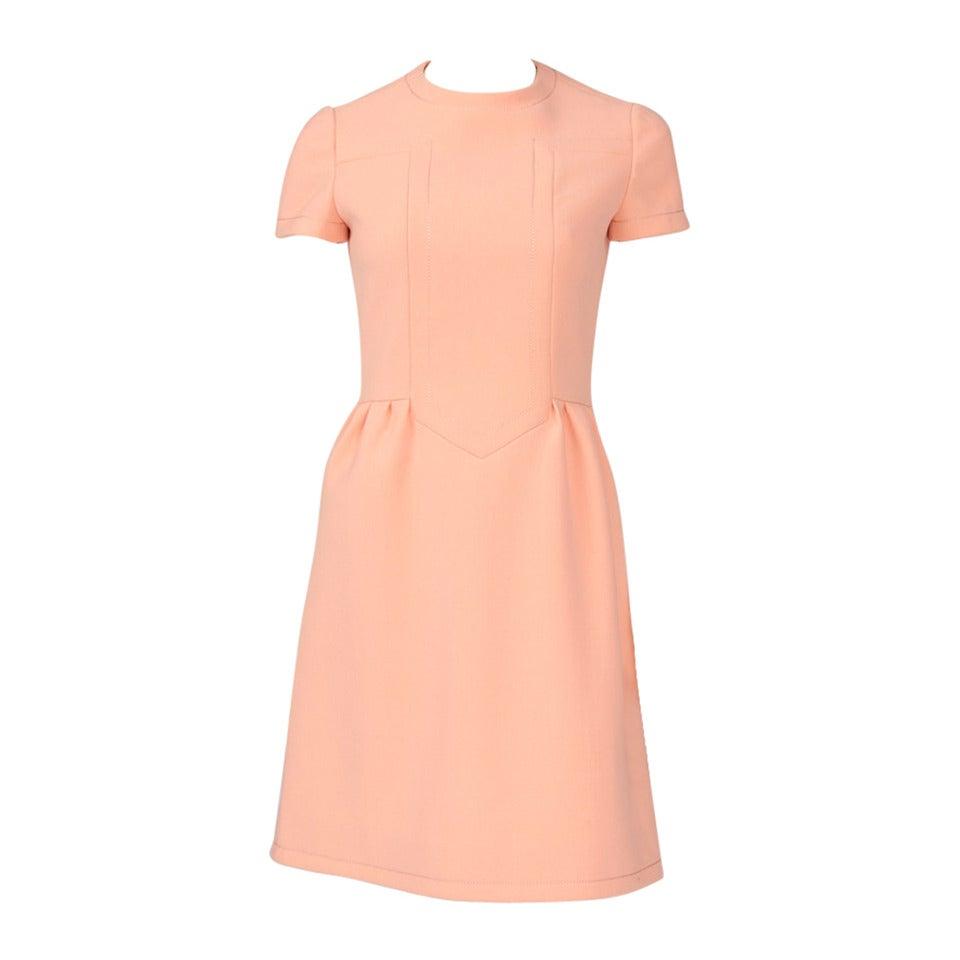 Jean-Louis Scherrer Wool Day Dress 1