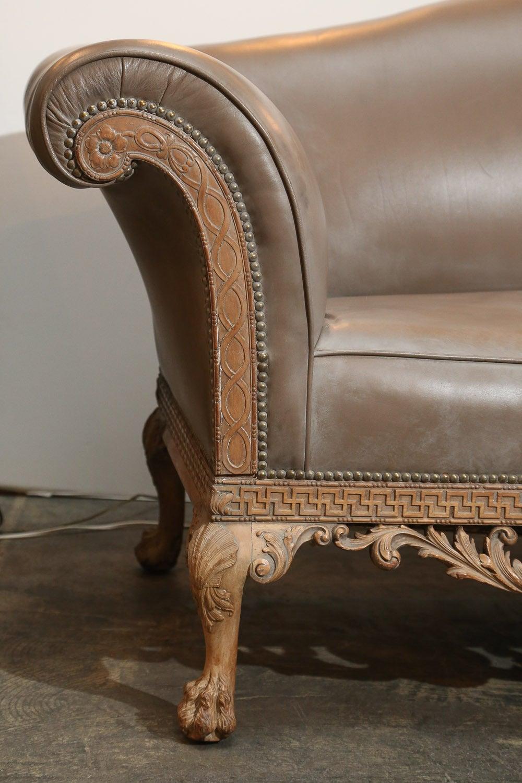George II-Style Irish Chippendale Sofa At 1stdibs