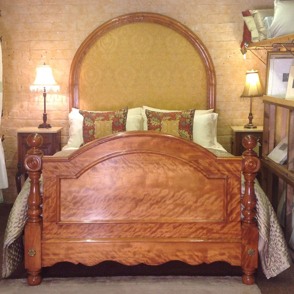 scottish half tester bedstead for sale at 1stdibs. Black Bedroom Furniture Sets. Home Design Ideas