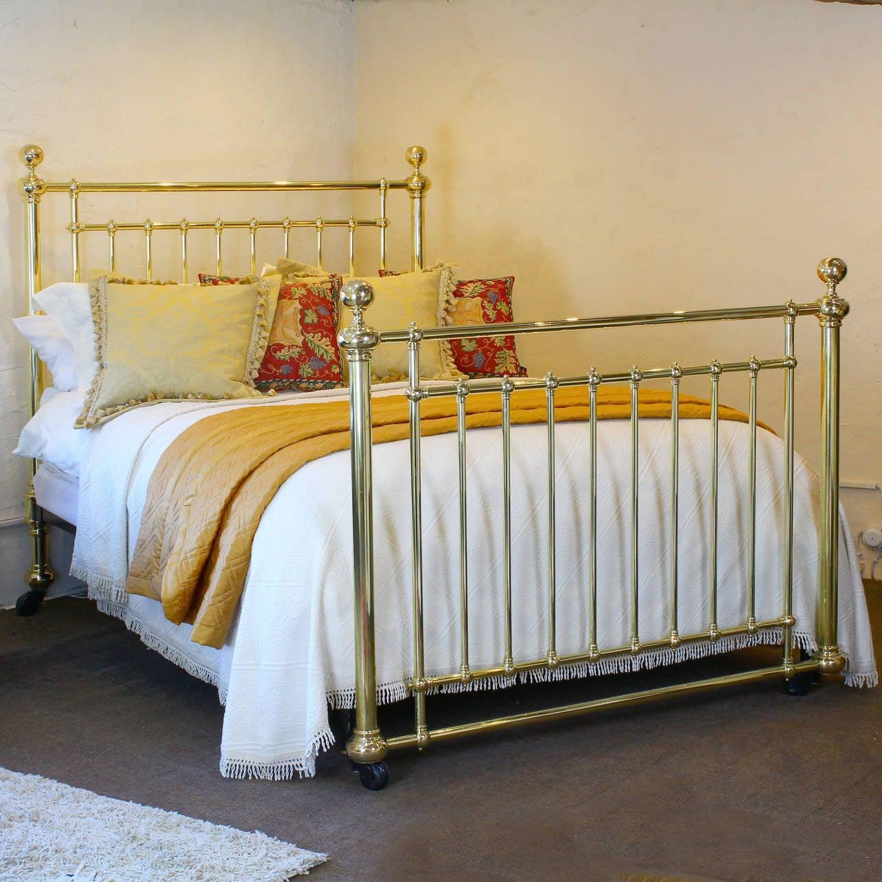 Elegant All Brass Bedstead At 1stdibs