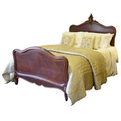 Walnut Louis XV King-size Bed
