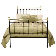 Black Double Antique Bed