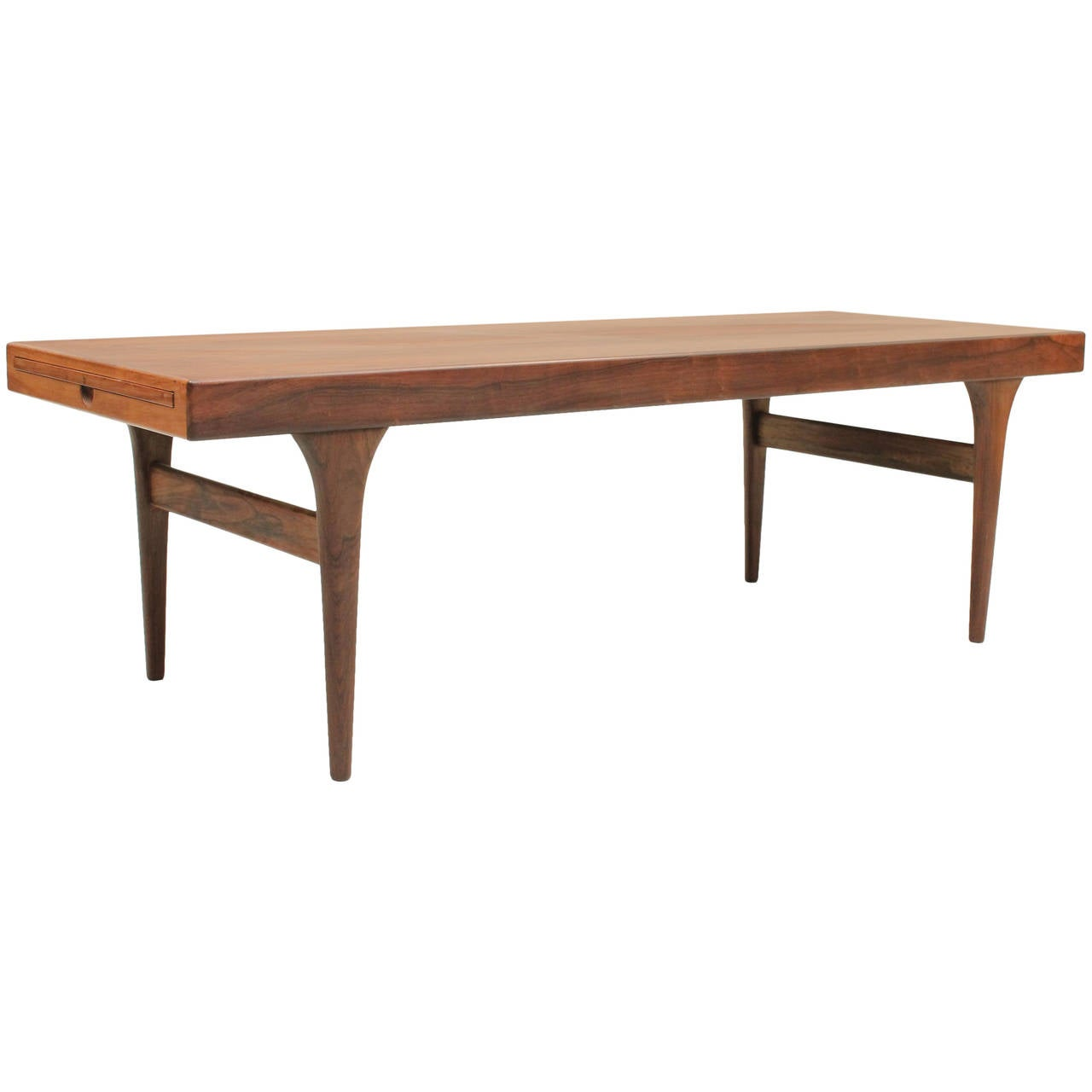 Mid Century Modern Extendable Coffee Table By Johannes Andersen At 1stdibs