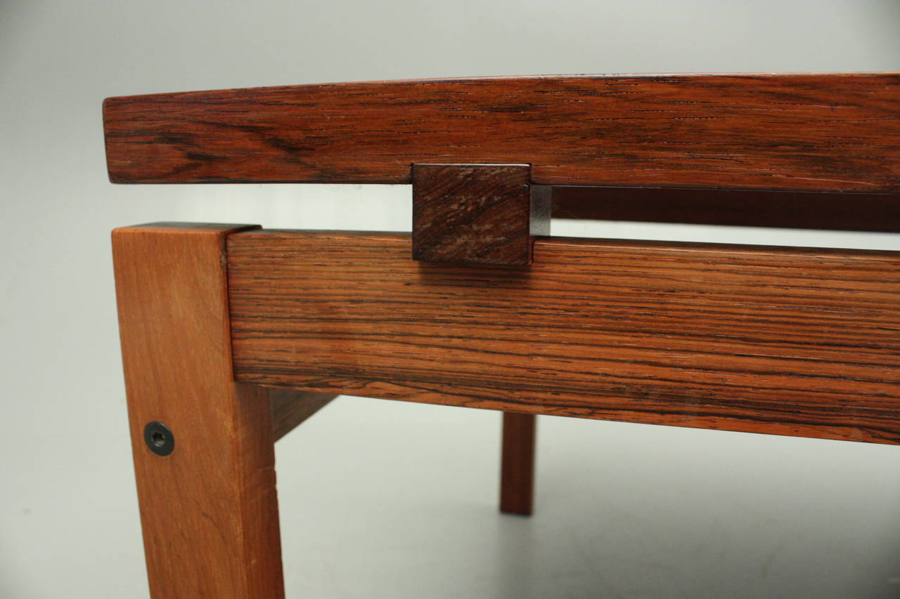 Mid Century Modern Rosewood Coffee Table At 1stdibs