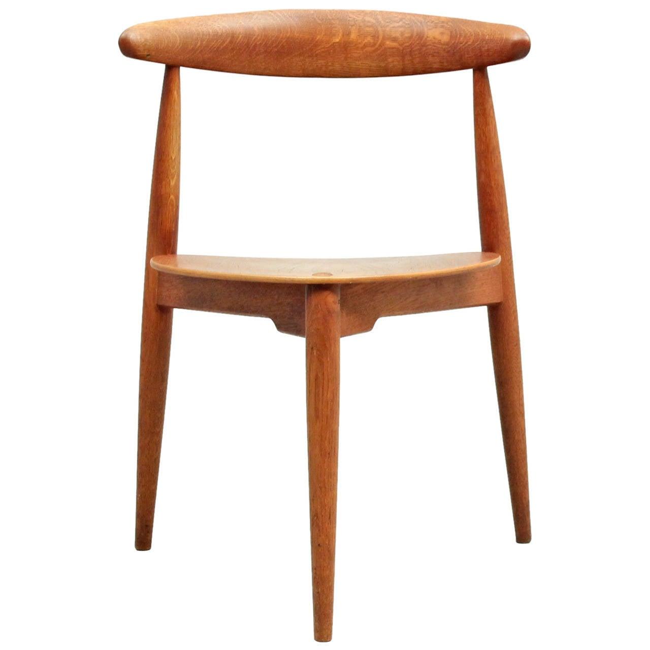 hans wegner heart chair at 1stdibs. Black Bedroom Furniture Sets. Home Design Ideas