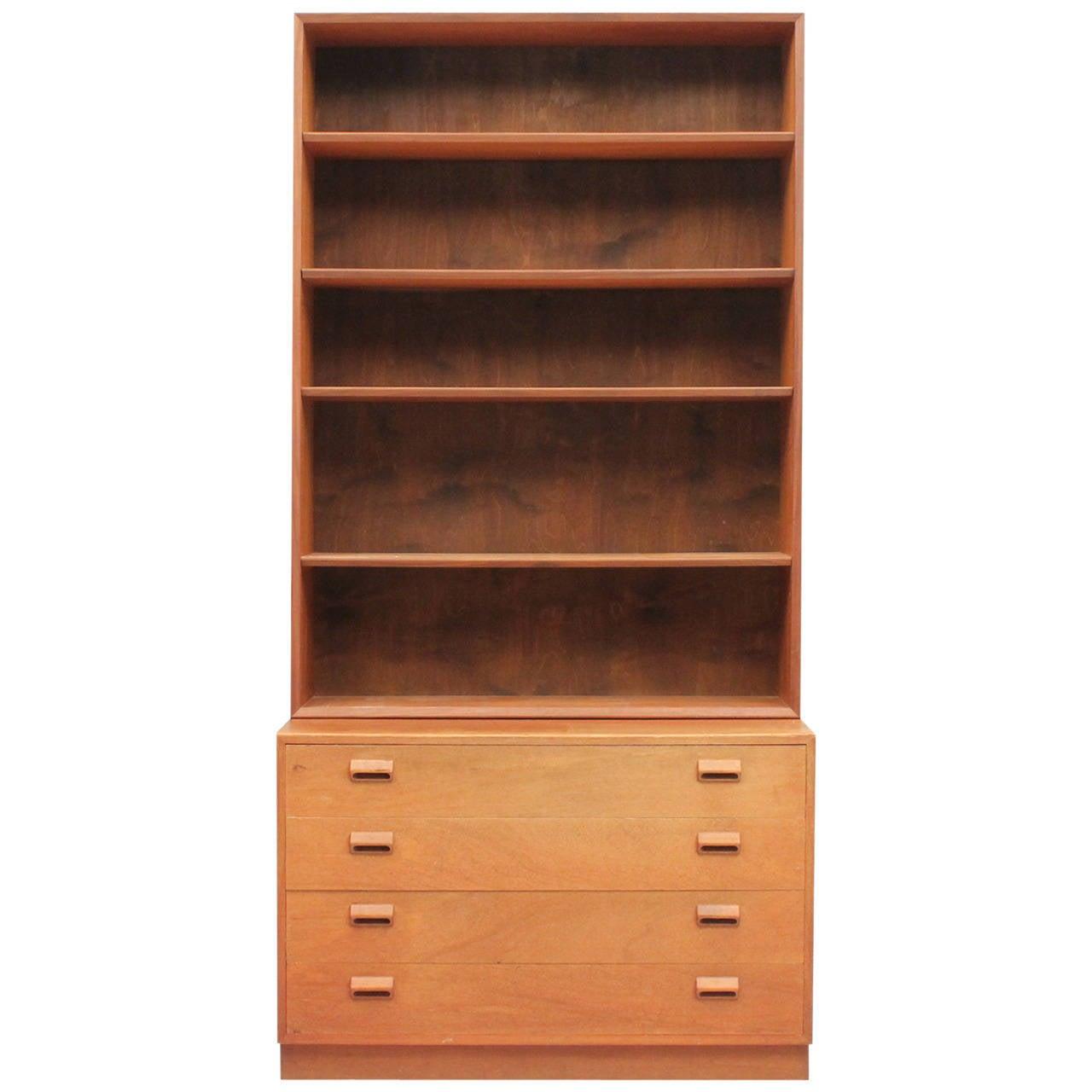 B 248 Rge Mogensen Bookcase At 1stdibs