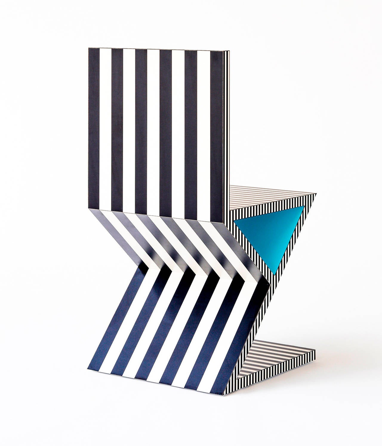 American Memphis Inspired Chair, Neo Laminati Collection For Sale