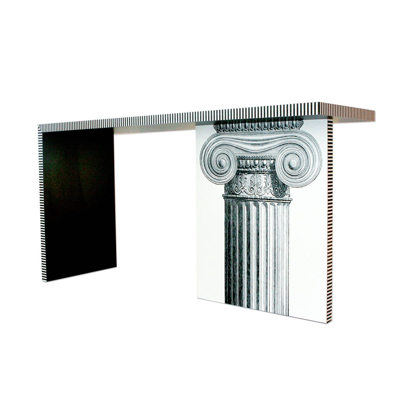 American Neoclassic Console Table For Sale