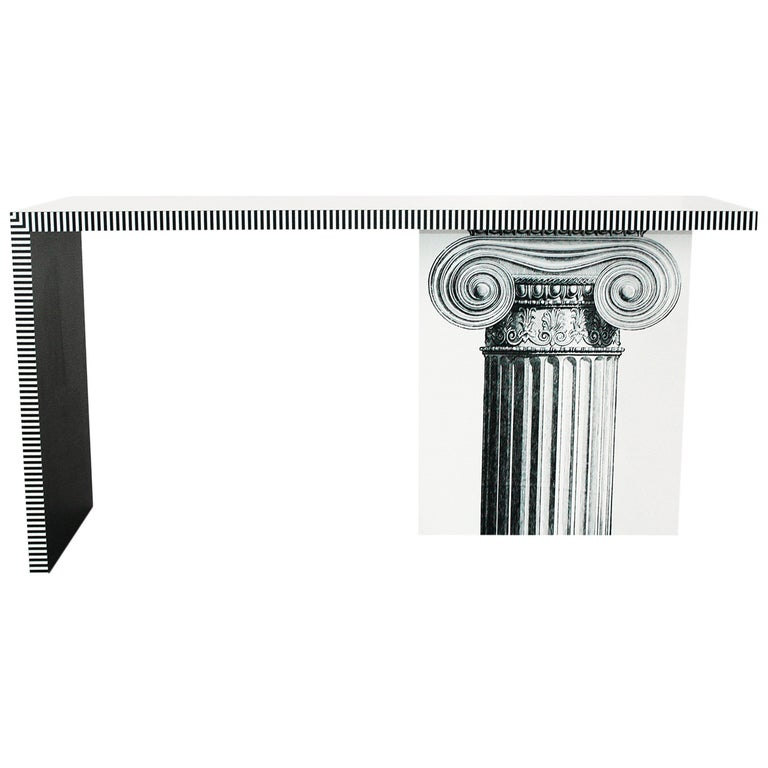 Neoclassic Console Table For Sale