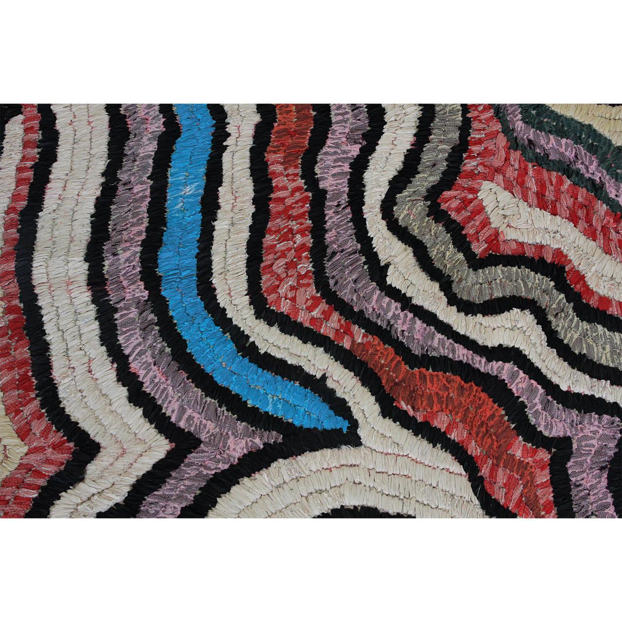 Maroc Tribal Rug: Moroccan Tribal Rag Rug For Sale At 1stdibs