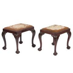 Early 19th Century Mahogany Stools