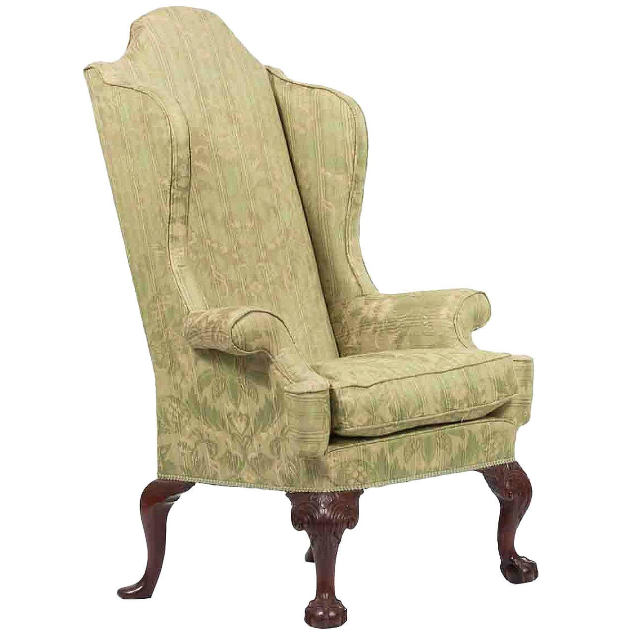 18th Century Wing Back Chair At 1stdibs