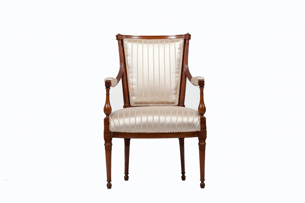 Early 19th Century French Empire Chairs For Sale at 1stdibs