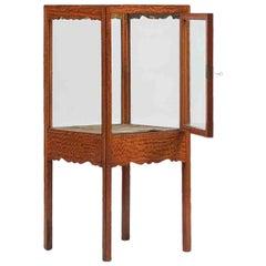 19th Century Satinwood Display Case