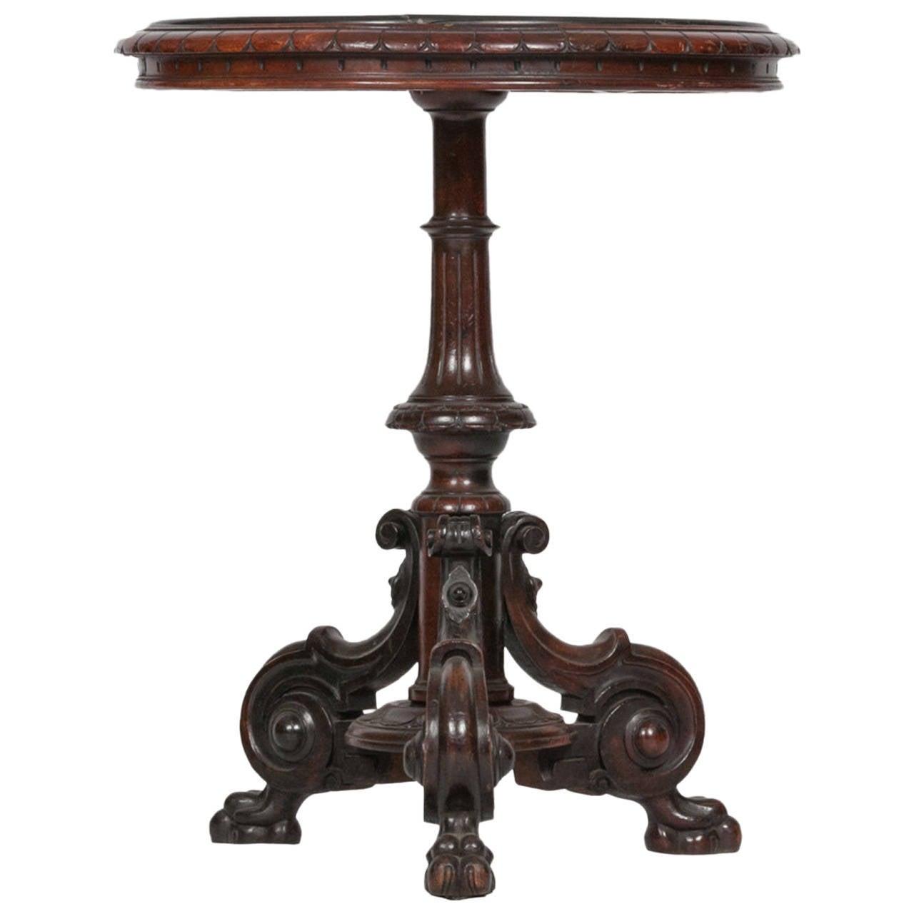 19th Century William IV Specimen Marble Occasional Table