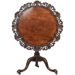 Early 19th Century George III Mahogany Occasional Table