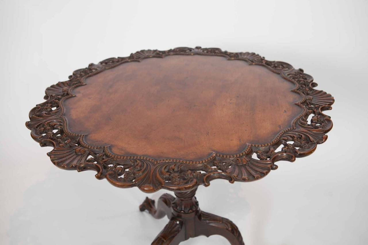 Early 19th Century George III Mahogany Occasional Table For Sale 3