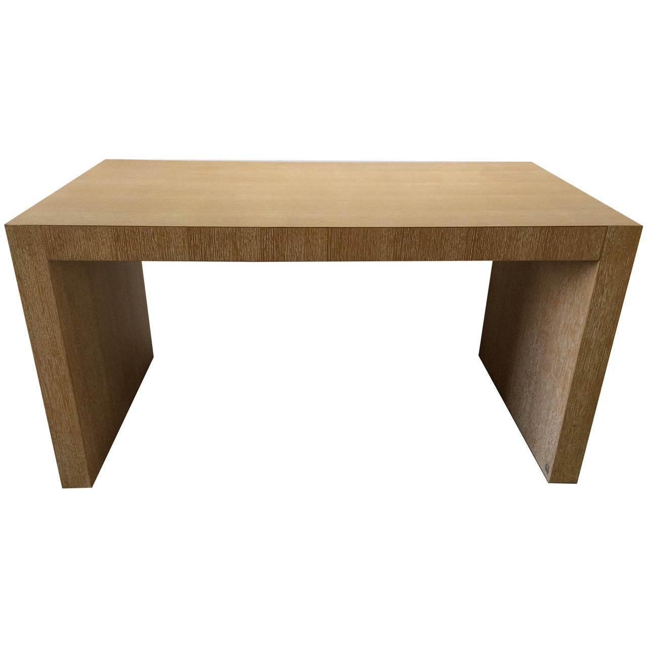 Giorgio Armani Cambridge Desk In Cerused White Oak